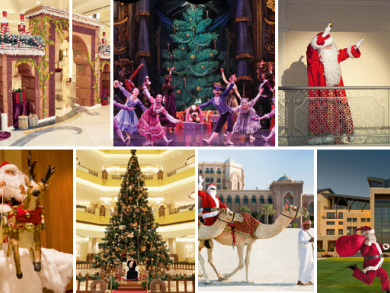 Christmas events in Abu Dhabi 2014