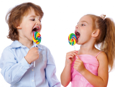 Should children eat sweets at Christmas time?