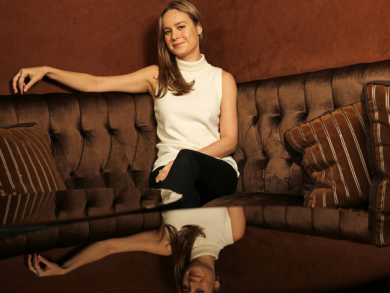 Brie Larson interview for Room
