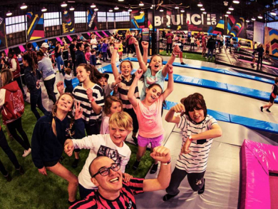 Jump around with us at the Time Out Kids Hop