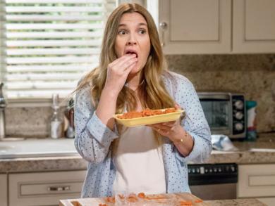 Drew Barrymore on Santa Clarita Diet
