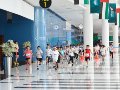 Aloft Abu Dhabi hosts charity run