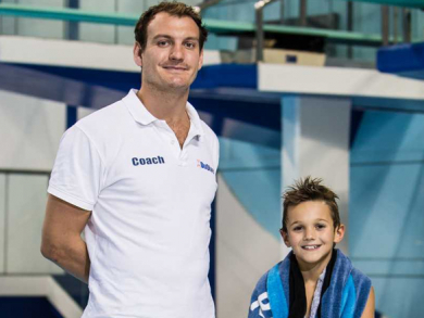 When I grow up, I want to be an Olympic diver