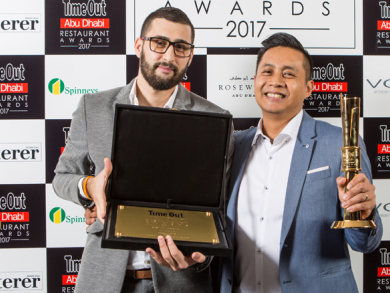 Time Out Abu Dhabi Restaurant Awards 2017 – winners pictures