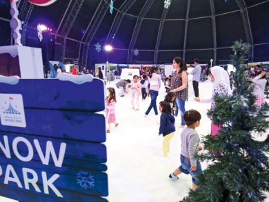 Winterland Carnival comes to Abu Dhabi