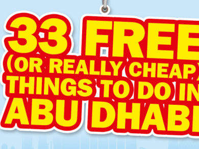 Fantastic free things to do in Abu Dhabi