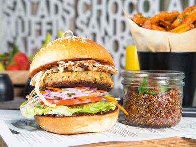 Dish of the Week: Café 302's vegan burger