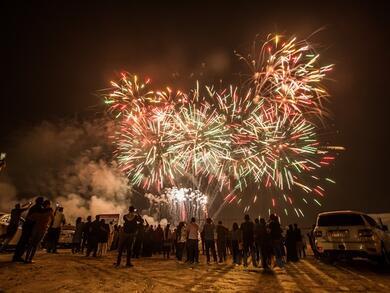 Three nights of spectacular Eid Al Adha fireworks at Yas Marina