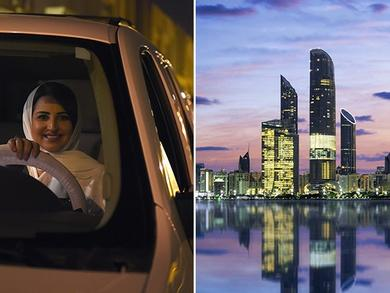 The best places for Saudi women drivers to visit in the UAE