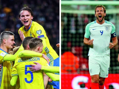 Where to watch England v Sweden in Abu Dhabi