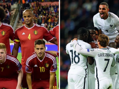 World Cup 2018: Watch France v Belgium in Abu Dhabi
