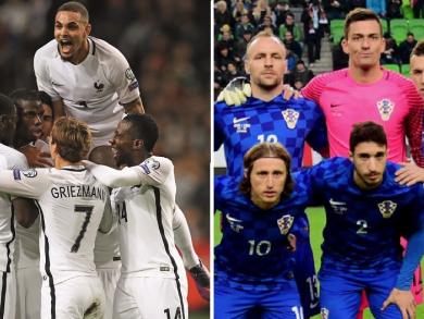 World Cup Final 2018: Where to watch France v Croatia