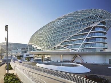 Where to stay on Yas Island for the Abu Dhabi Grand Prix