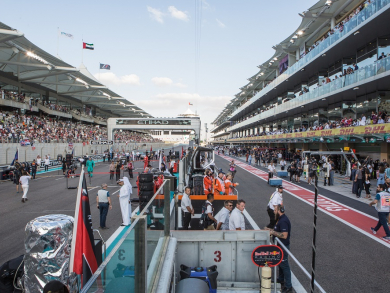 Enjoy the Abu Dhabi Grand Prix in style with 1 OAK