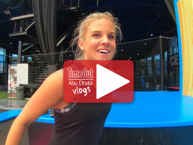 We try out the FREESTYLE workout at Bounce Abu Dhabi and you can WIN passes