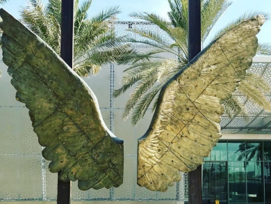 Catch the awesome 'Wings of Mexico' display in Abu Dhabi