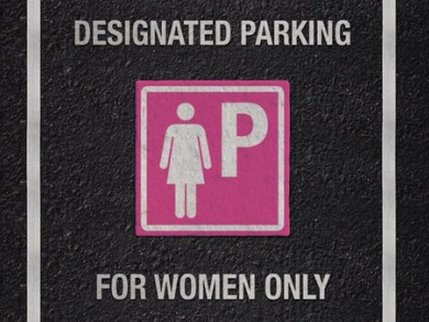Women motorists encouraged to use pink parking spaces in Abu Dhabi