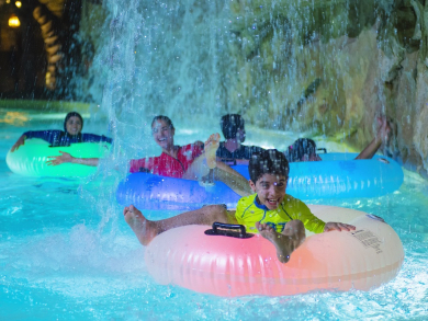 Neon Nights makes return to Yas Waterworld