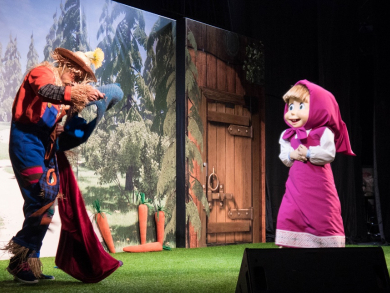 Join Masha and the Bear at Marina Mall