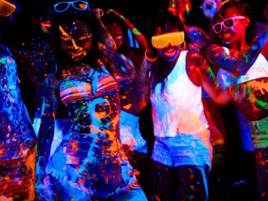 Al Maya Island paint party promises to make a mess