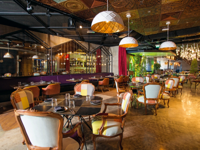 Explore a world of tasty treats with Dine Around The Hub