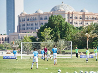 Abu Dhabi kids can sign up for expert football training