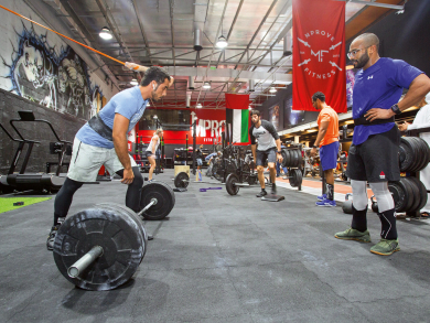 Meet the Abu Dhabi gym and café going from strength to strength