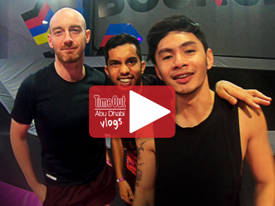 We take on Time Out Dubai at dodgeball at Bounce