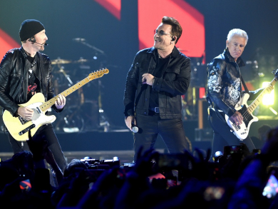 Music boss hints at bringing mega U2 gig to Abu Dhabi
