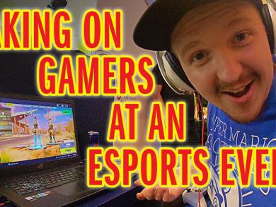 We play ESPORTS at Yas Gaming festival