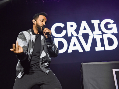 Craig David to perform during Abu Dhabi F1 weekend