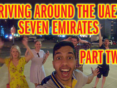 We go on a roadtrip to SEVEN Emirates in one day - PART 2