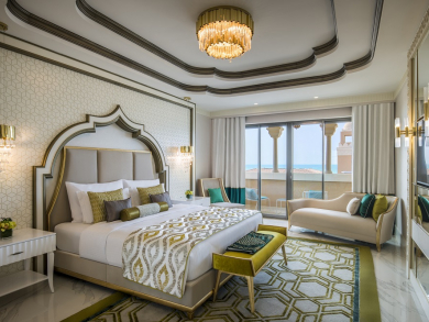 In pictures: Abu Dhabi's plush new all-inclusive hotel