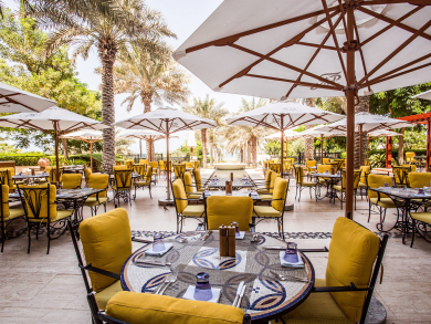 Where to brunch with a family in Abu Dhabi