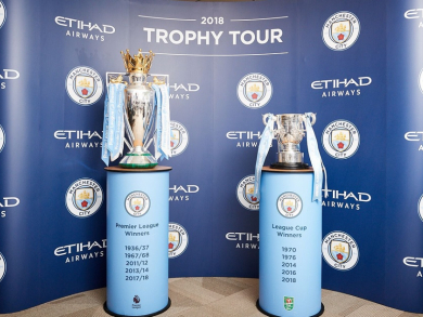 See the Premier League trophy and meet a Manchester City legend in Abu Dhabi