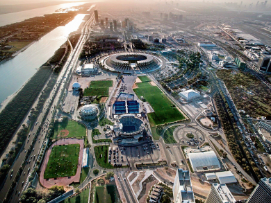 Best places to run outdoors in Abu Dhabi