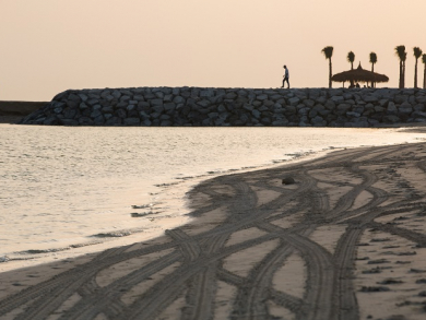 Two free things to do in Abu Dhabi: Explore Al Hudayriat Beach and see some amazing art