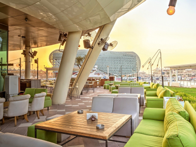 Abu Dhabi's best mixed drinks bars 2018