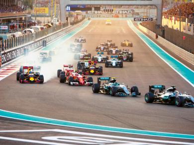 Celebrating ten years of the Abu Dhabi Grand Prix
