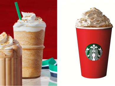 Starbucks unveils its mouth-watering festive season menu