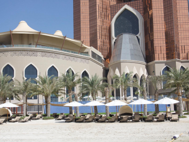 Free fun-filled beach day at Bab Al Qasr Abu Dhabi