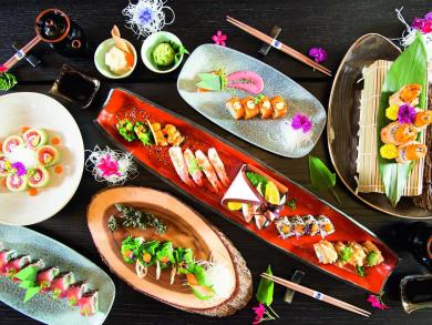 Sushi Soirée at Buddha-Bar Beach