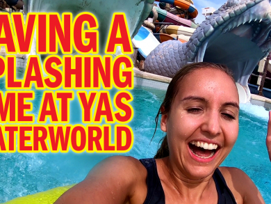 We soak up the fun of Yas Waterworld