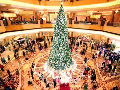 Abu Dhabi's festive offer of the day: Le Vendôme