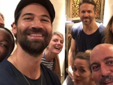 Ryan Reynolds enjoys Abu Dhabi night out with wife Blake Lively