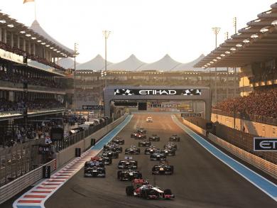 Start time announced for Abu Dhabi Grand Prix 2019