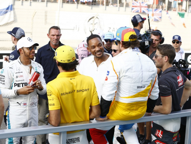 In pictures: Celebs spotted at the Abu Dhabi Grand Prix 2018