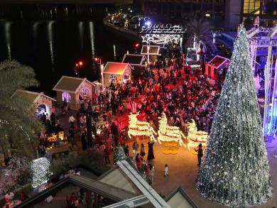 Al Maryah Island's spectacular Christmas tree lights switch-on plans announced
