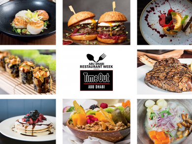 Win amazing prizes with Abu Dhabi Restaurant Week powered by Time Out Abu Dhabi