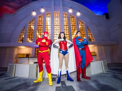 Join the festive fun at Warner Bros. World Abu Dhabi